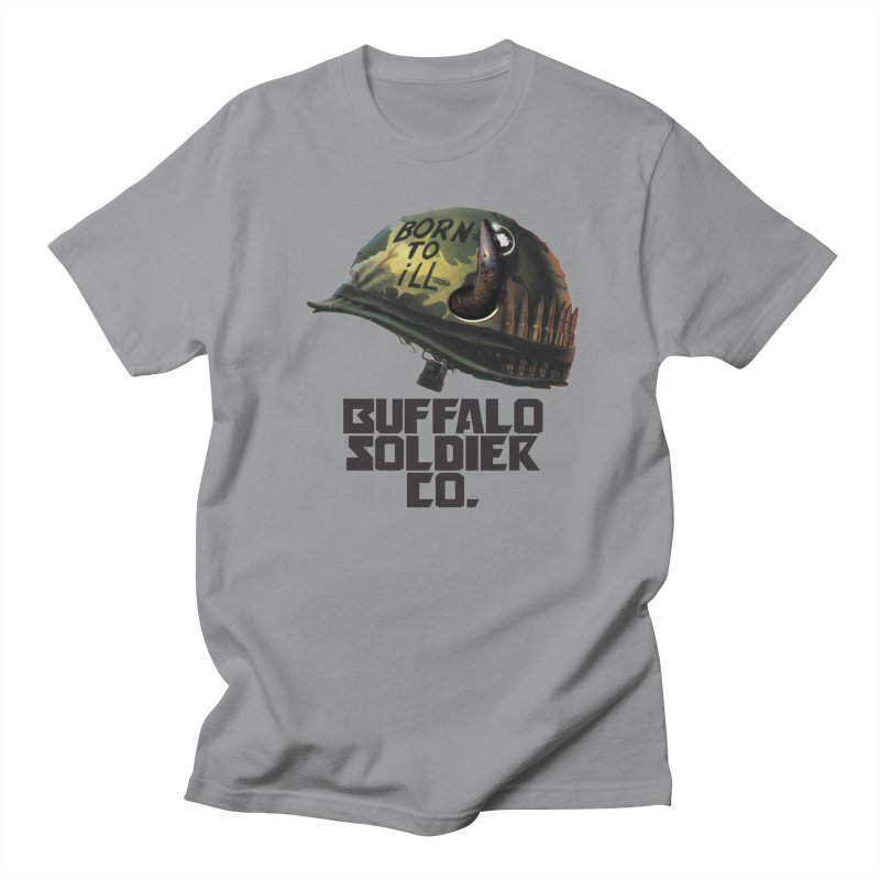 Full Metal Buffalo Men's T-Shirt by Frewil 's Artist Shop