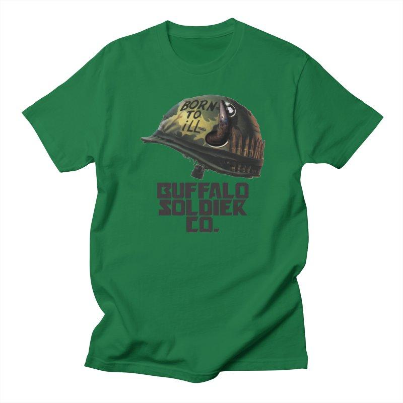 Full Metal Buffalo Men's T-shirt by Frewil 's Artist Shop