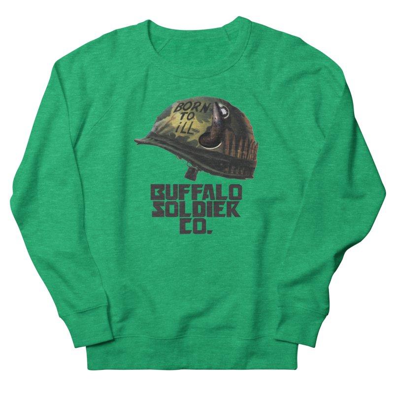 Full Metal Buffalo Men's Sweatshirt by Frewil 's Artist Shop