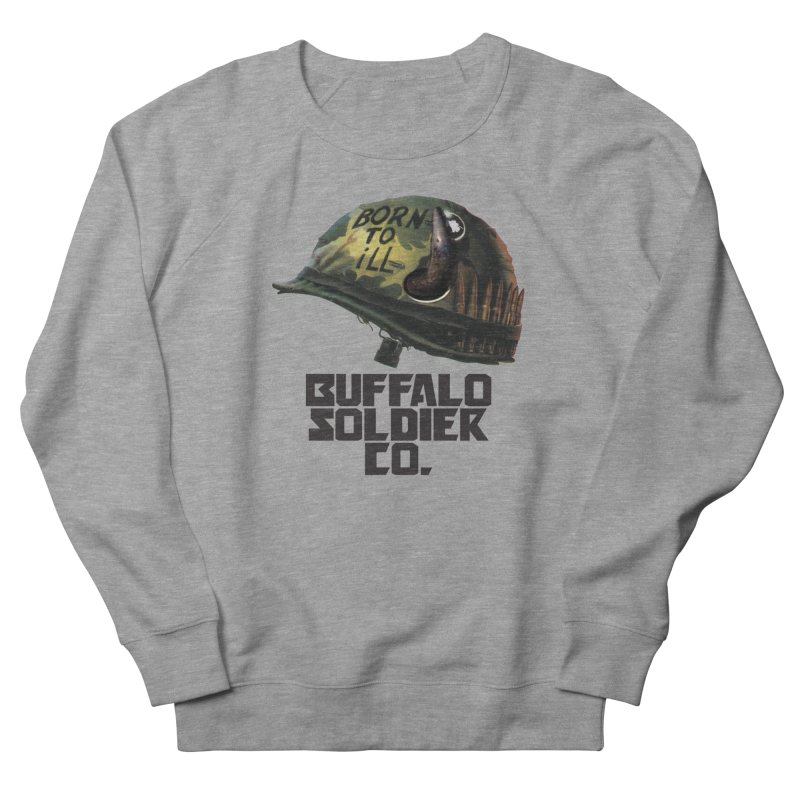 Full Metal Buffalo Men's Sweatshirt by Frewil 's Artist Shop