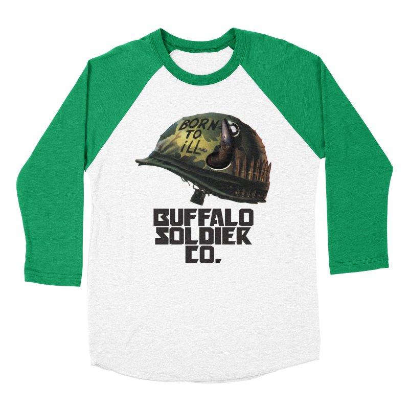 Full Metal Buffalo Men's Baseball Triblend T-Shirt by Frewil 's Artist Shop