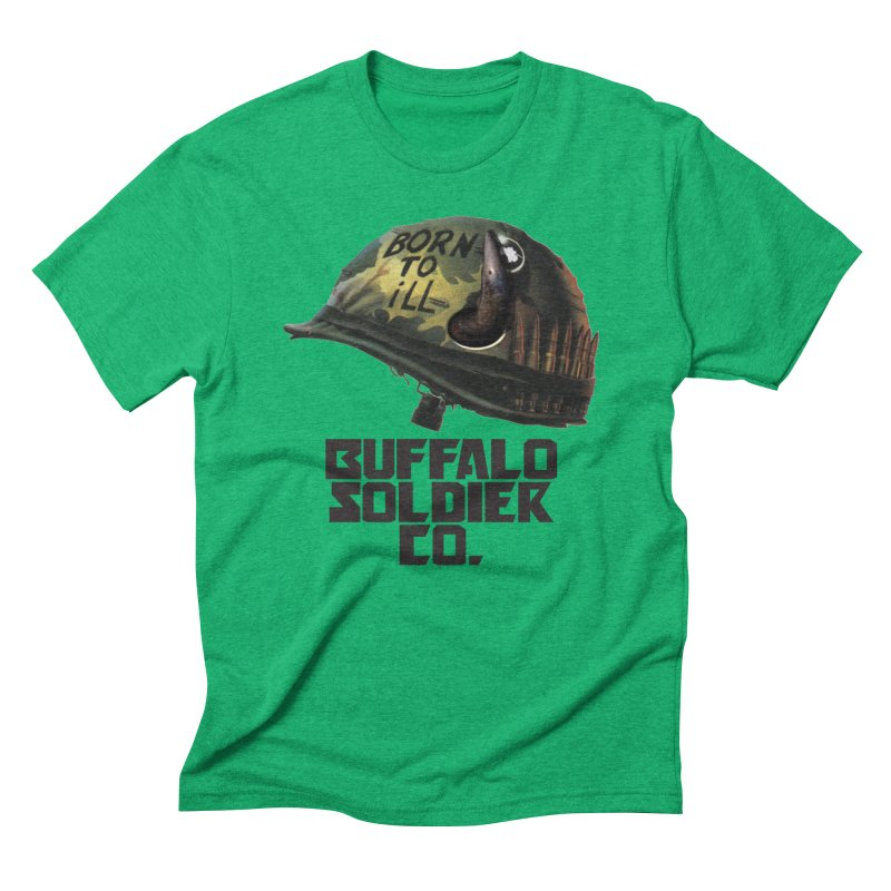 Full Metal Buffalo Men's Triblend T-shirt by Frewil 's Artist Shop