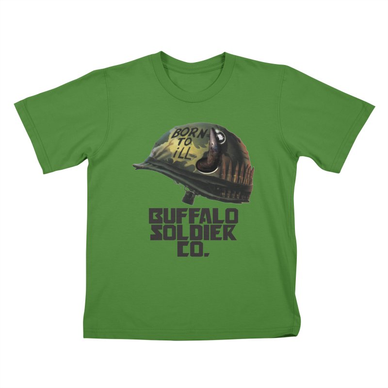 Full Metal Buffalo Kids T-shirt by Frewil 's Artist Shop