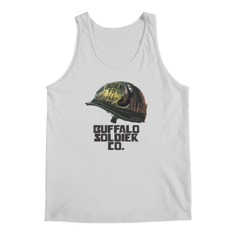 Full Metal Buffalo Men's Tank by Frewil 's Artist Shop