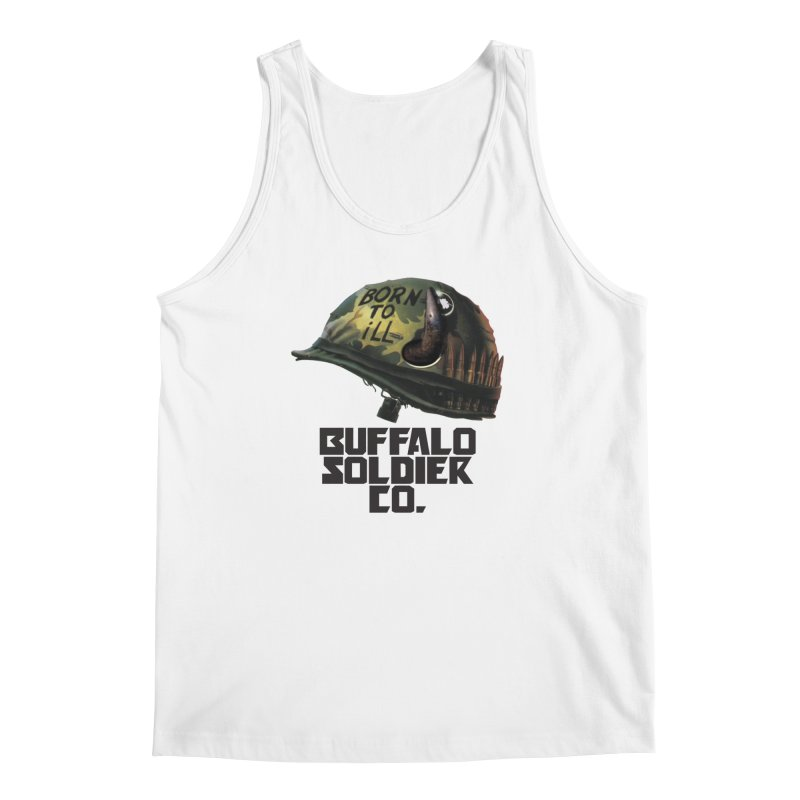 Full Metal Buffalo Men's Tank by Frewil 's Artist Shop