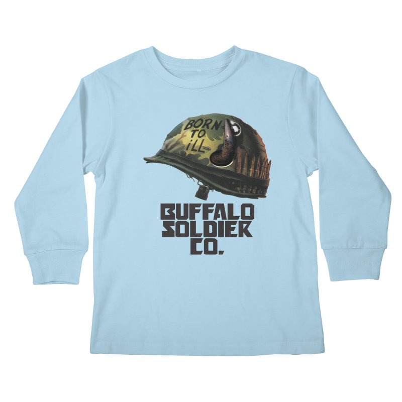 Full Metal Buffalo Kids Longsleeve T-Shirt by Frewil 's Artist Shop