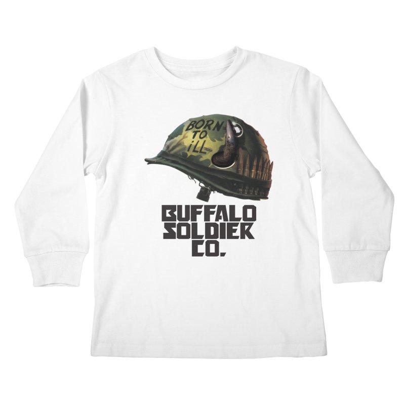 Full Metal Buffalo Kids Longsleeve T-Shirt by Frewil 's Artist Shop