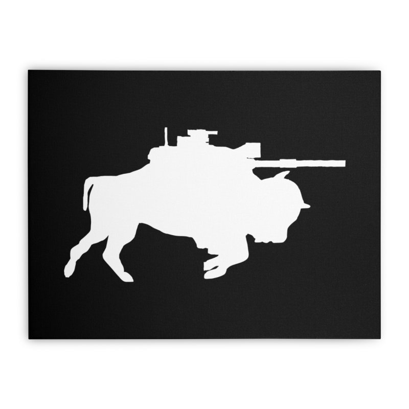 Classic Buffalo Soldier Co.  Home Stretched Canvas by Frewil 's Artist Shop