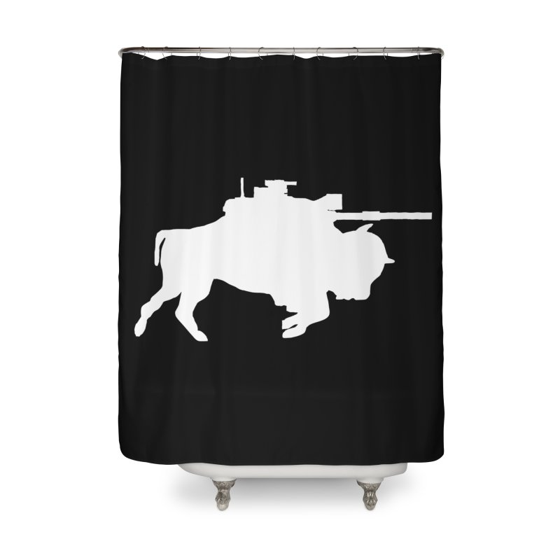Classic Buffalo Soldier Co.  Home Shower Curtain by Frewil 's Artist Shop