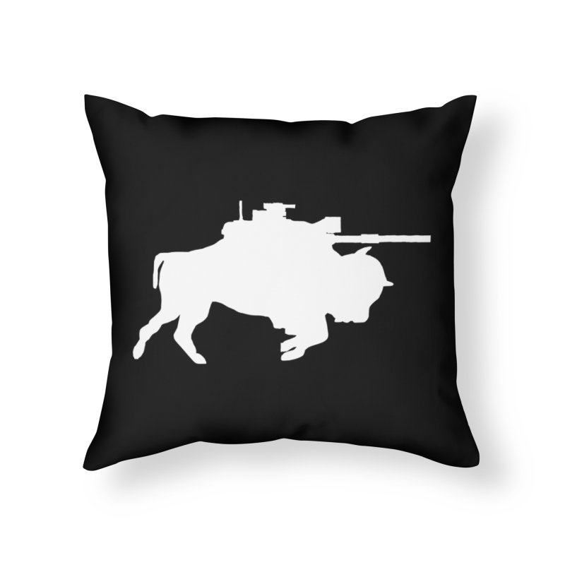 Classic Buffalo Soldier Co.  Home Throw Pillow by Frewil 's Artist Shop