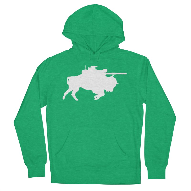 Classic Buffalo Soldier Co.  Men's French Terry Pullover Hoody by Frewil 's Artist Shop