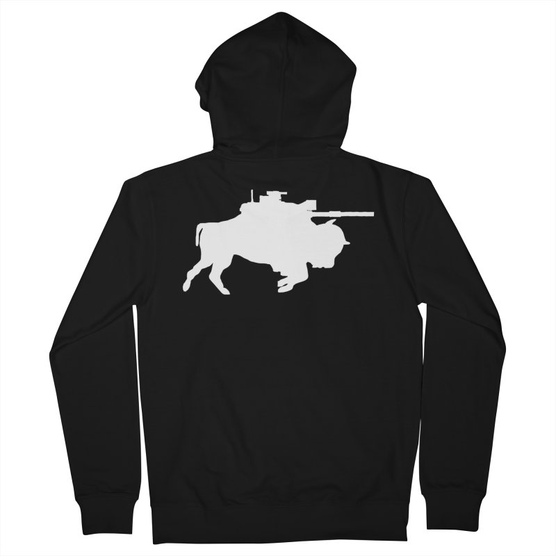 Classic Buffalo Soldier Co.  Women's Zip-Up Hoody by Frewil 's Artist Shop