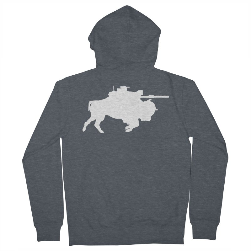 Classic Buffalo Soldier Co.  Men's Zip-Up Hoody by Frewil 's Artist Shop
