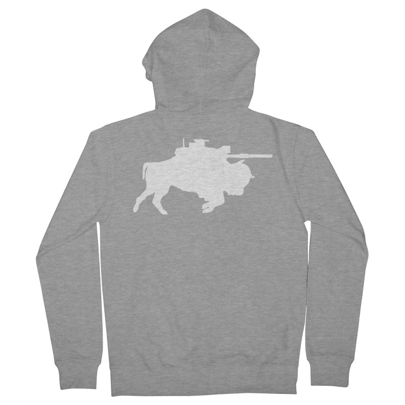 Classic Buffalo Soldier Co.  Men's French Terry Zip-Up Hoody by Frewil 's Artist Shop