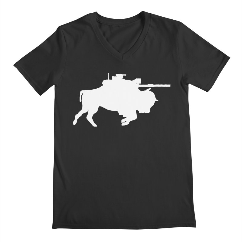 Classic Buffalo Soldier Co.  Men's V-Neck by Frewil 's Artist Shop