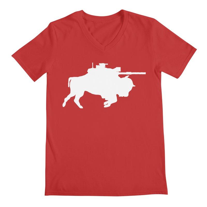 Classic Buffalo Soldier Co.  Men's Regular V-Neck by Frewil 's Artist Shop