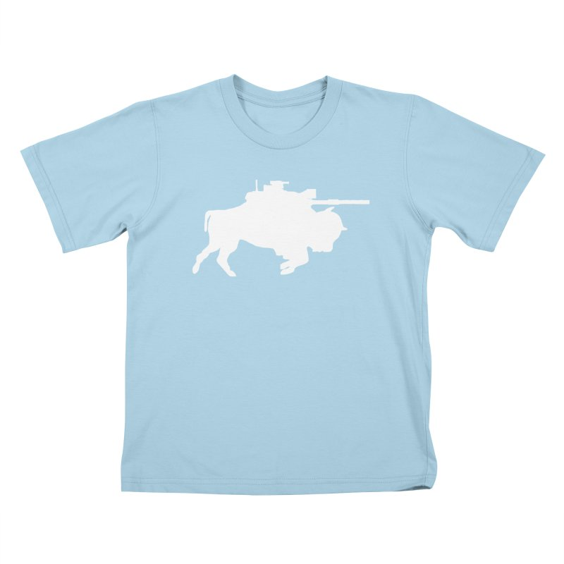 Classic Buffalo Soldier Co.  Kids T-Shirt by Frewil 's Artist Shop