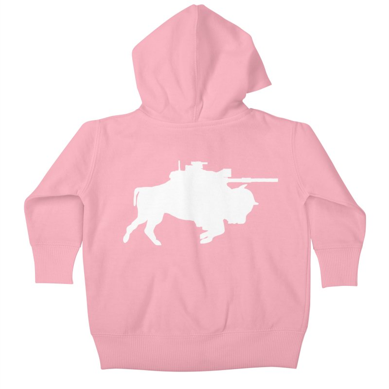 Classic Buffalo Soldier Co.  Kids Baby Zip-Up Hoody by Frewil 's Artist Shop