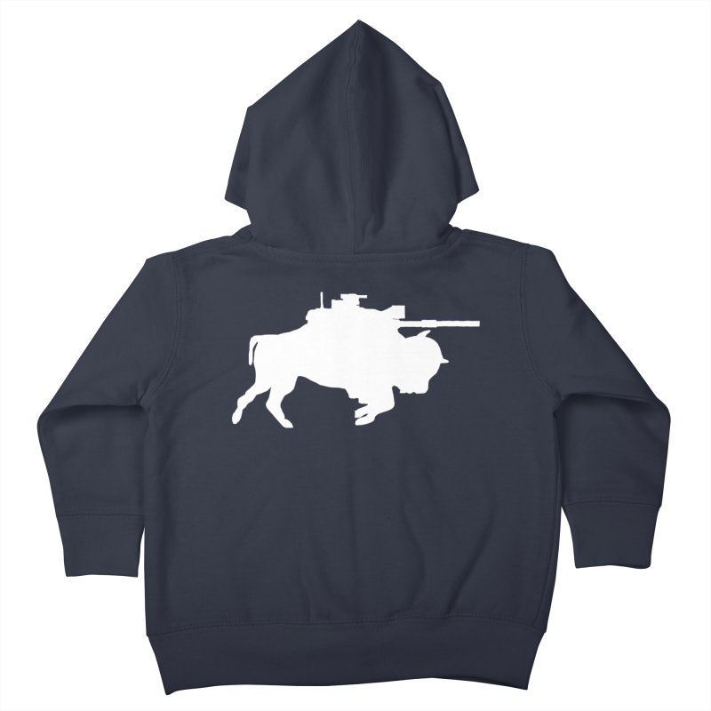 Classic Buffalo Soldier Co.  Kids Toddler Zip-Up Hoody by Frewil 's Artist Shop