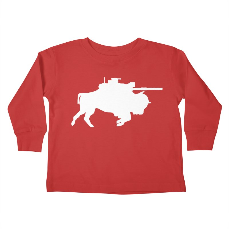 Classic Buffalo Soldier Co.  Kids Toddler Longsleeve T-Shirt by Frewil 's Artist Shop