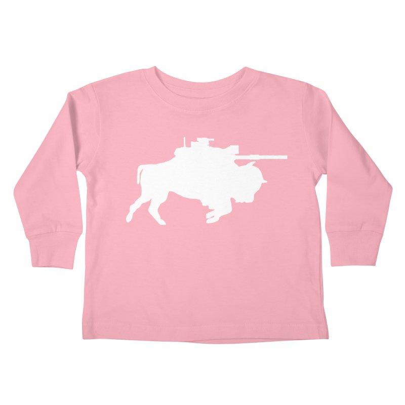 Classic Buffalo Soldier Co.  Kids Toddler Longsleeve T-Shirt by Frewil 's Artist Shop