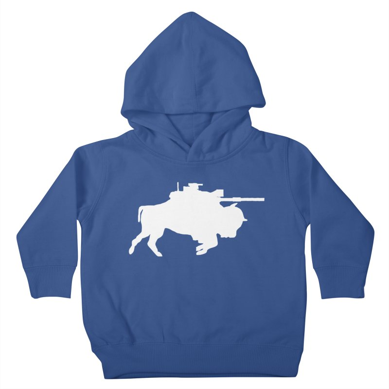 Classic Buffalo Soldier Co.  Kids Toddler Pullover Hoody by Frewil 's Artist Shop