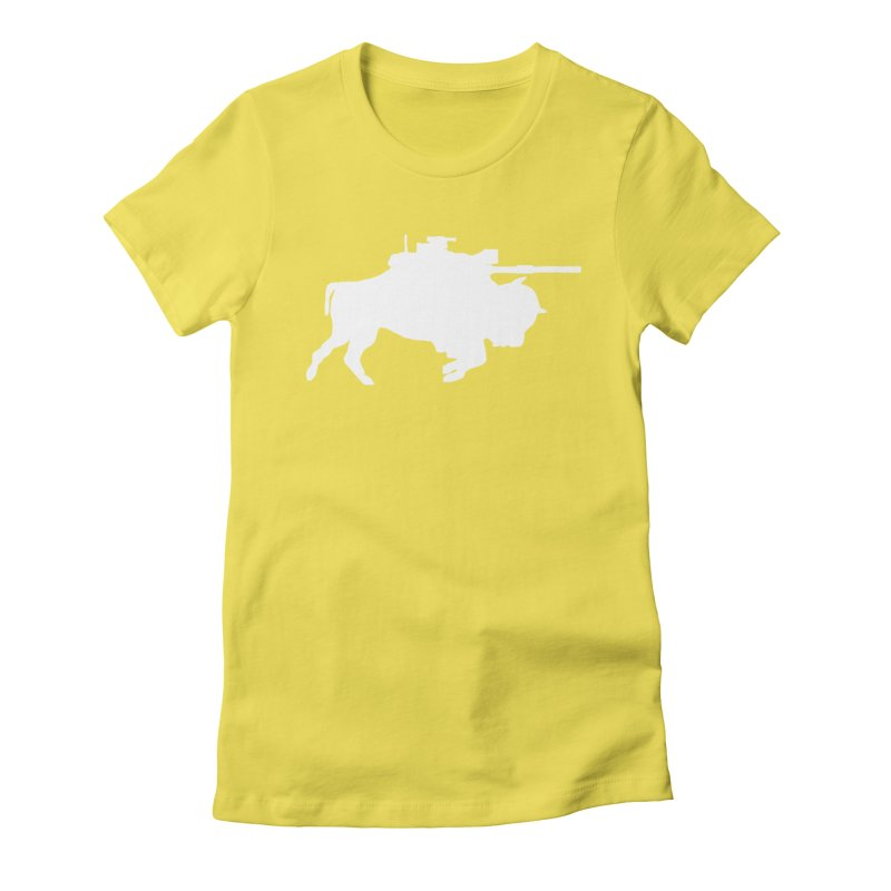 Classic Buffalo Soldier Co.  Women's Fitted T-Shirt by Frewil 's Artist Shop