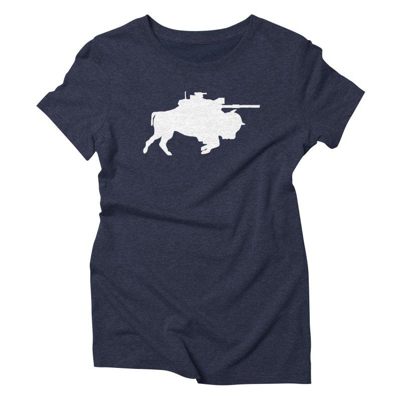 Classic Buffalo Soldier Co.  Women's Triblend T-shirt by Frewil 's Artist Shop
