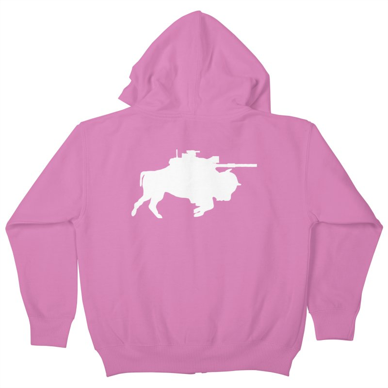 Classic Buffalo Soldier Co.  Kids Zip-Up Hoody by Frewil 's Artist Shop