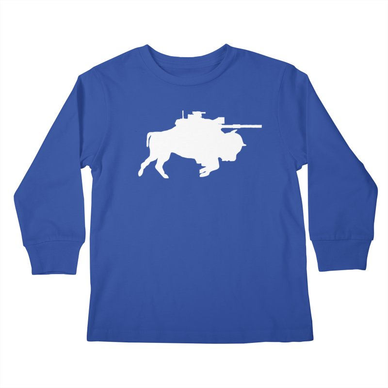 Classic Buffalo Soldier Co.  Kids Longsleeve T-Shirt by Frewil 's Artist Shop