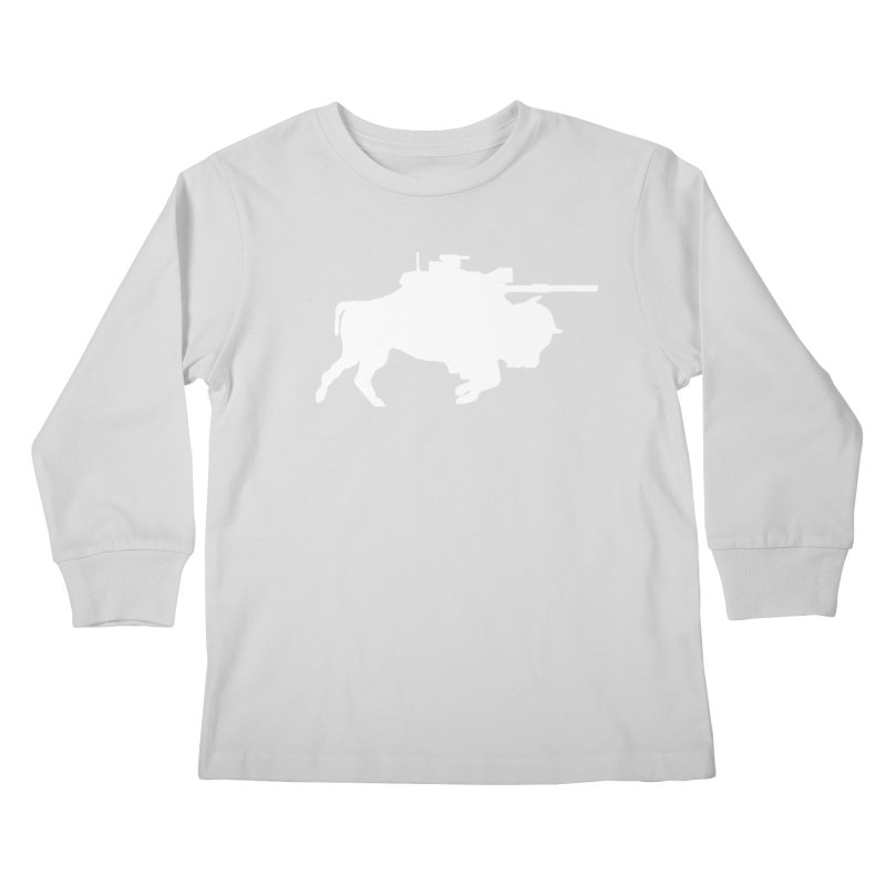 Classic Buffalo Soldier Co.  Kids Longsleeve T-Shirt by Frewil 's Artist Shop