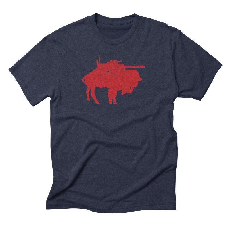 Vintage Buffalo Soldier Co. Men's Triblend T-shirt by Frewil 's Artist Shop