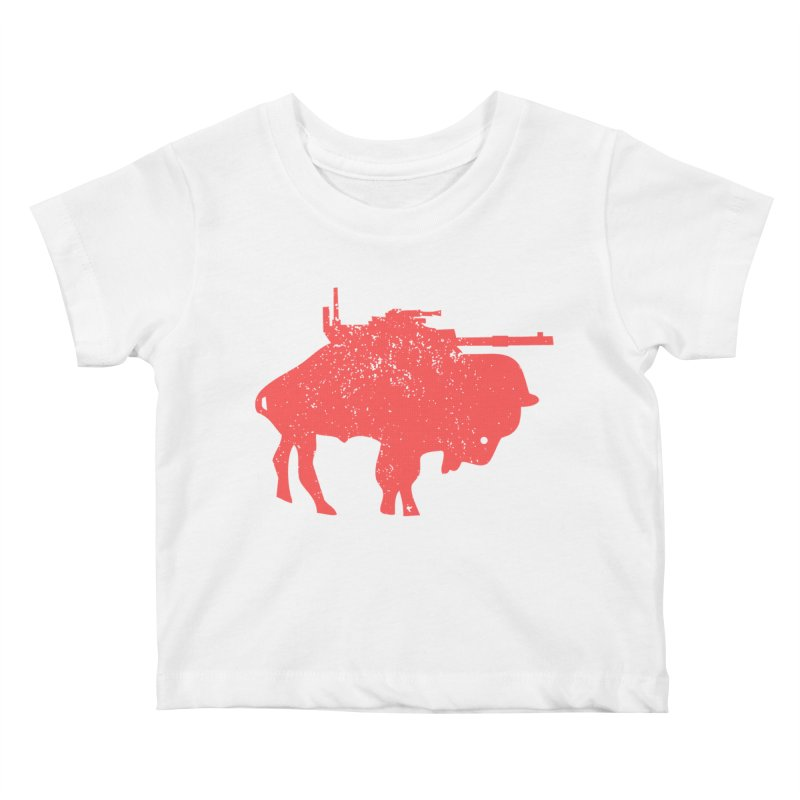 Vintage Buffalo Soldier Co. Kids Baby T-Shirt by Frewil 's Artist Shop
