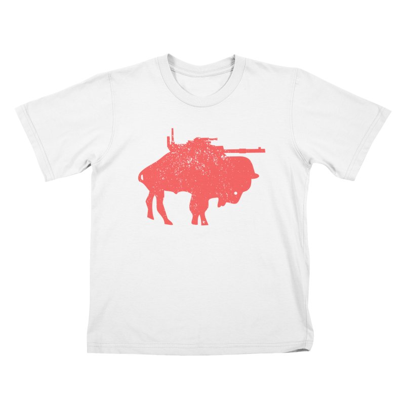 Vintage Buffalo Soldier Co. Kids T-Shirt by Frewil 's Artist Shop