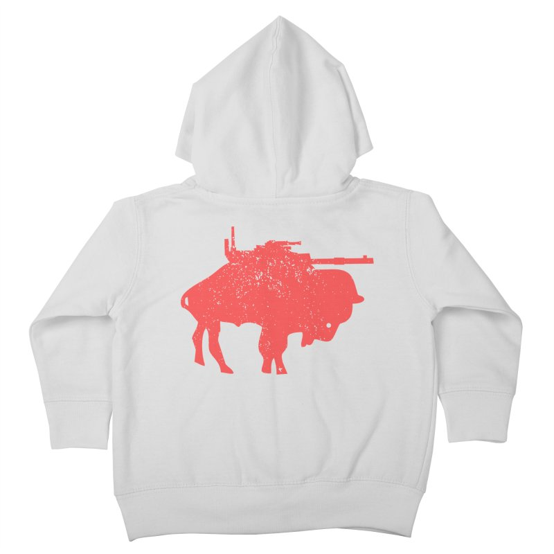 Vintage Buffalo Soldier Co. Kids Toddler Zip-Up Hoody by Frewil 's Artist Shop