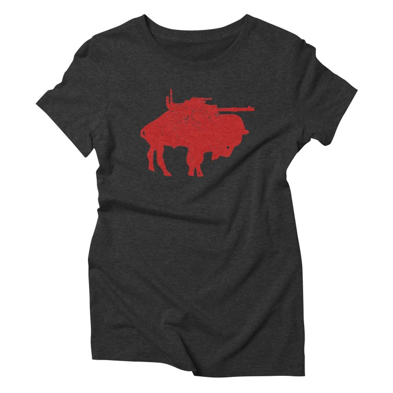 Vintage Buffalo Soldier Co. Women's Triblend T-Shirt by Frewil 's Artist Shop