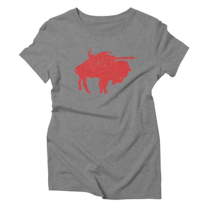 Vintage Buffalo Soldier Co. Women's Triblend T-shirt by Frewil 's Artist Shop