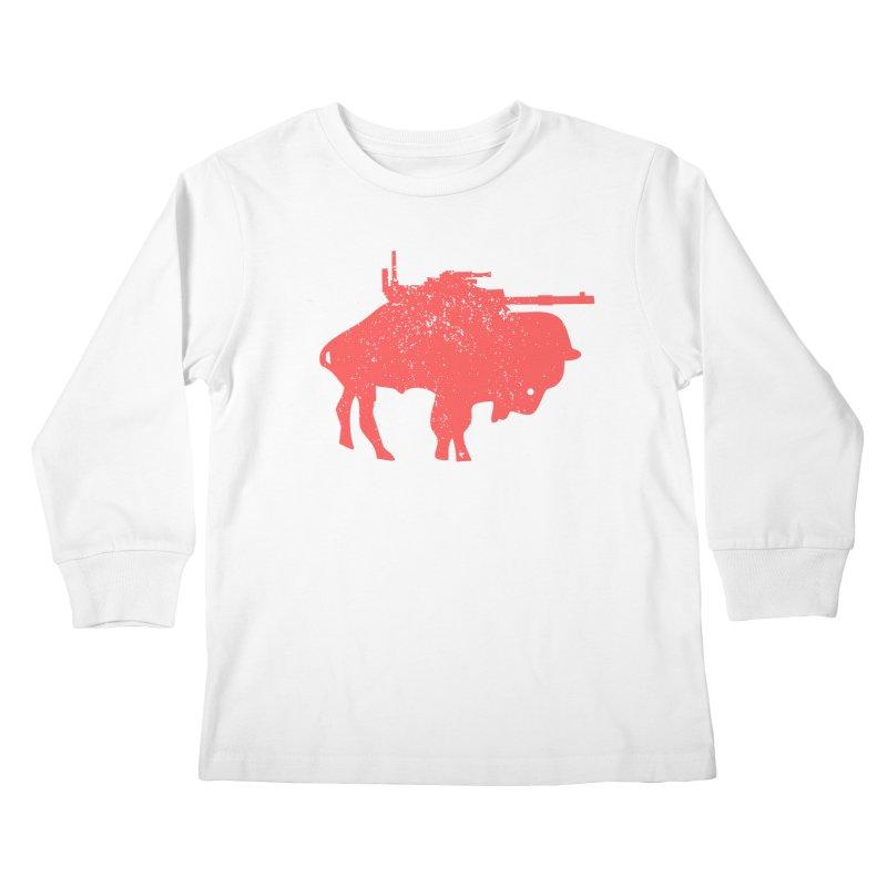 Vintage Buffalo Soldier Co. Kids Longsleeve T-Shirt by Frewil 's Artist Shop