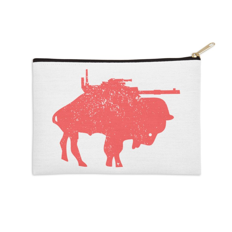 Vintage Buffalo Soldier Co. Accessories Zip Pouch by Frewil 's Artist Shop