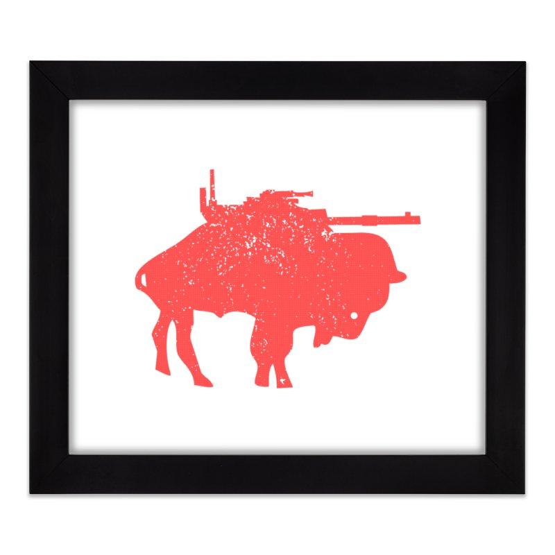 Vintage Buffalo Soldier Co. Home Framed Fine Art Print by Frewil 's Artist Shop