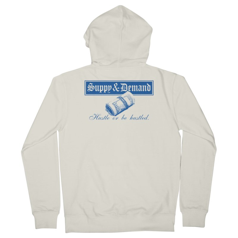The Inquirer Men's French Terry Zip-Up Hoody by Frewil 's Artist Shop