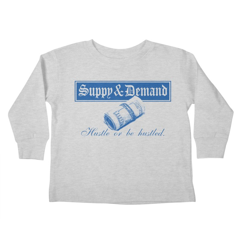 The Inquirer Kids Toddler Longsleeve T-Shirt by Frewil 's Artist Shop