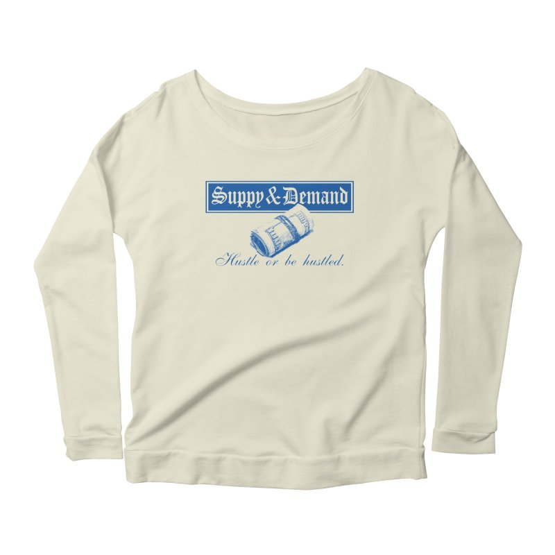 The Inquirer Women's Longsleeve Scoopneck  by Frewil 's Artist Shop