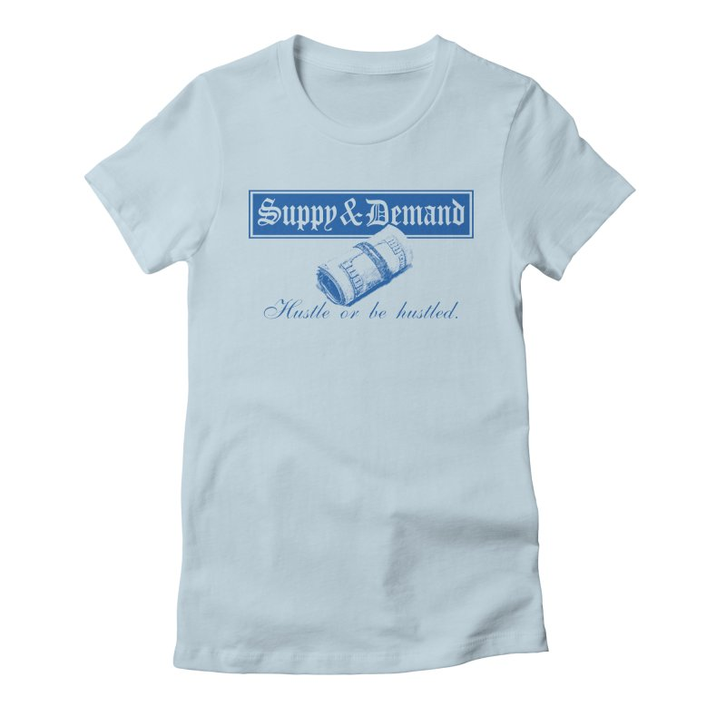 The Inquirer Women's Fitted T-Shirt by Frewil 's Artist Shop