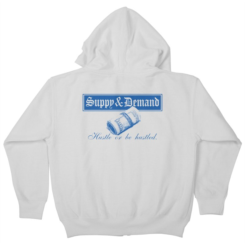 The Inquirer Kids Zip-Up Hoody by Frewil 's Artist Shop