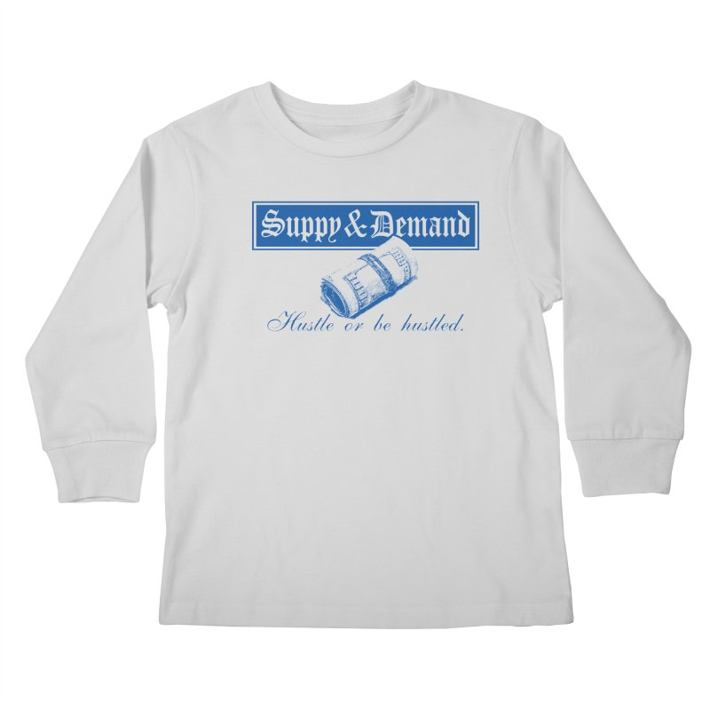 The Inquirer Kids Longsleeve T-Shirt by Frewil 's Artist Shop