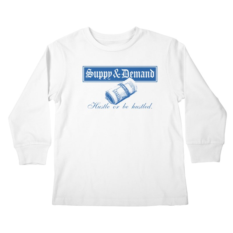 The Inquirer Kids Longsleeve T-Shirt by Frewil 's Artist Shop