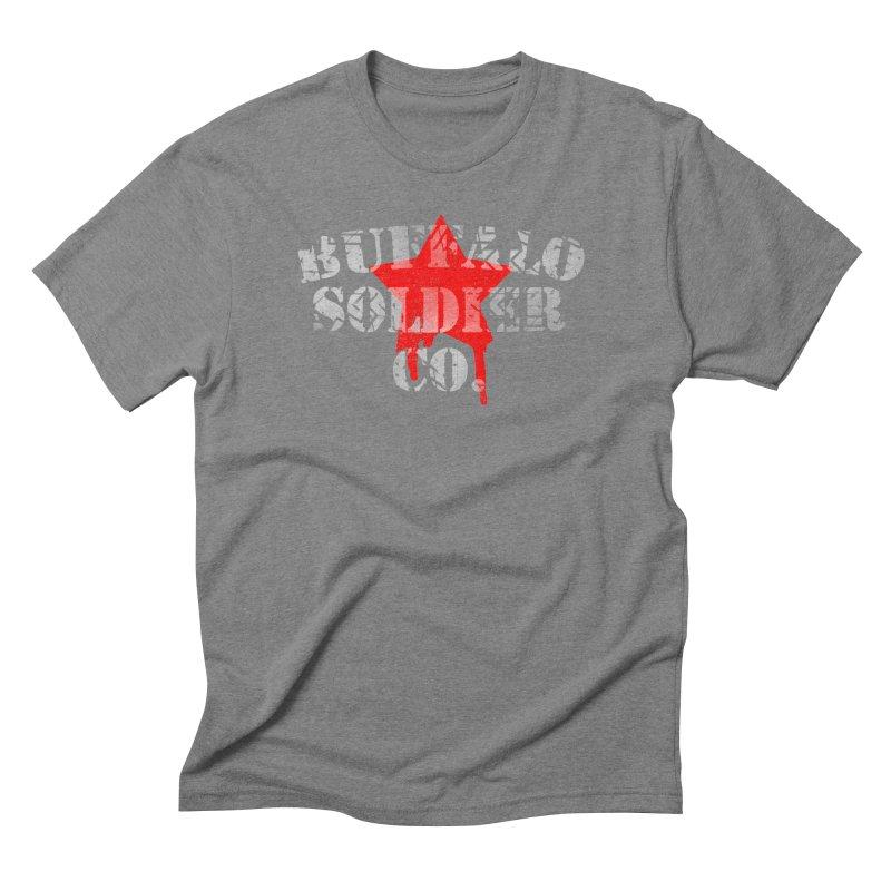 Tank Text Men's Triblend T-Shirt by Frewil 's Artist Shop