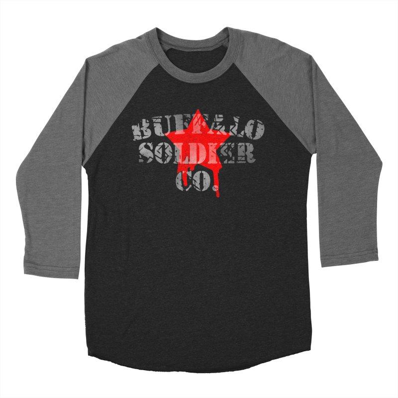 Tank Text Men's Baseball Triblend Longsleeve T-Shirt by Frewil 's Artist Shop