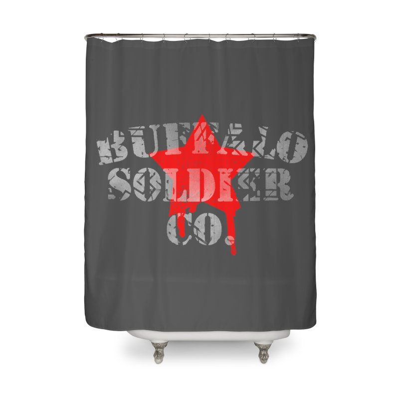 Tank Text Home Shower Curtain by Frewil 's Artist Shop